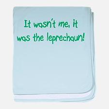 The Leprechaun Did It! Infant Blanket