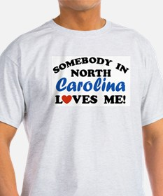 North Carolina Ash Grey T-Shirt