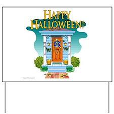 Happy Halloween Door - Yard Sign