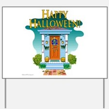 Happy Halloween Door - Yard Sign