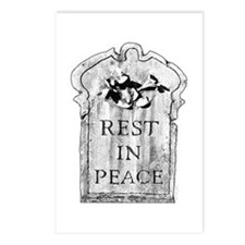Rest In Peace - Postcards (Package of 8)