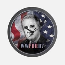What Would FDR Do? Wall Clock