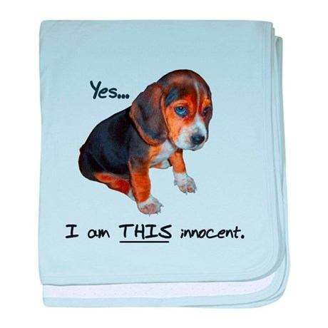 Innocent Puppy Infant Blanket