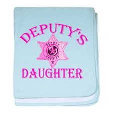 Deputy's Daughter Infant Blanket
