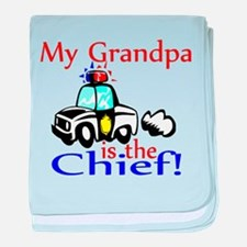 My Grandpa is the Chief Infant Blanket