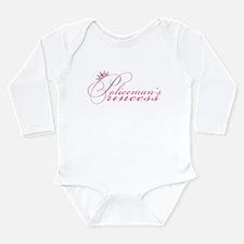 Policeman's Princess Long Sleeve Infant Bodysuit