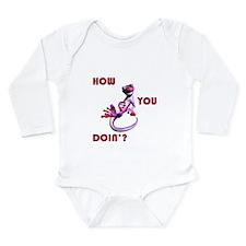 Sexy Gecko Long Sleeve Infant Bodysuit