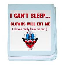 Evil Clowns Infant Blanket