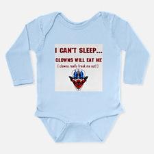 Evil Clowns Long Sleeve Infant Bodysuit