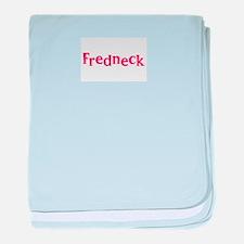 Fredneck baby blanket