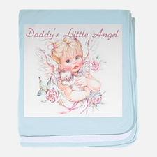 Daddy's Little Angel Infant Blanket
