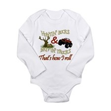 hunting bucks copy Body Suit