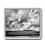 Farmer in field in Montana -Mousepad