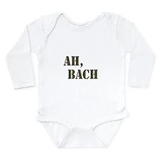 Ah, Bach Long Sleeve Infant Bodysuit
