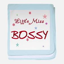 Miss Bossy Infant Blanket