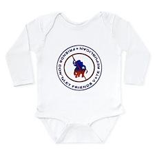 Anti Republican Long Sleeve Infant Bodysuit