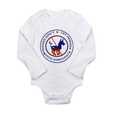 Anti Democrat Long Sleeve Infant Bodysuit