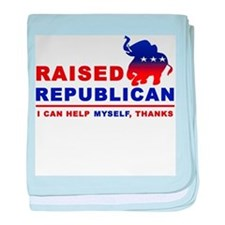 Raised Republican Infant Blanket