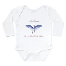 SIDS angel boy lost Long Sleeve Infant Bodysuit