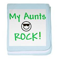 My Aunts Rock Infant Blanket