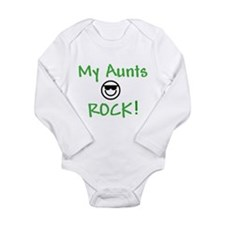 My Aunts Rock Long Sleeve Infant Bodysuit