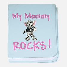 My Mommy Rocks Infant Blanket
