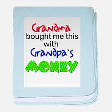 Grandpa's Money Infant Blanket