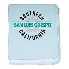 San Luis Obispo CA baby blanket