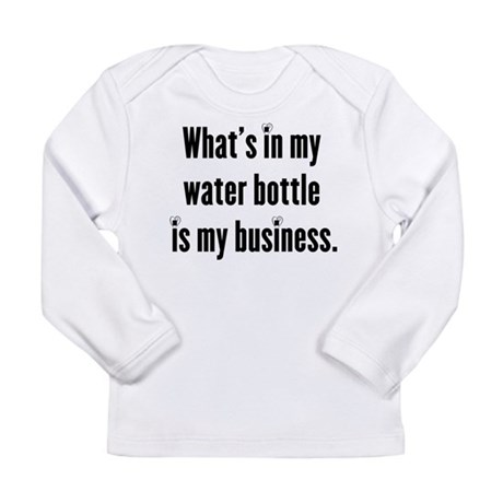 My water bottle Long Sleeve Infant T-Shirt