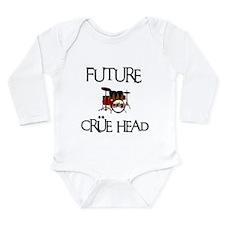 Future Crue Head Long Sleeve Infant Bodysuit