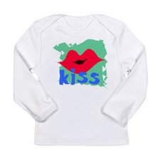 kiss Long Sleeve Infant T-Shirt
