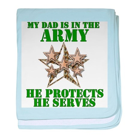 Army Dad Infant Blanket