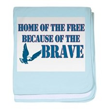 Home of the free Infant Blanket