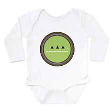 ecology logo Long Sleeve Infant Bodysuit