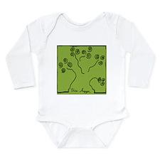 tree-hugger Long Sleeve Infant Bodysuit