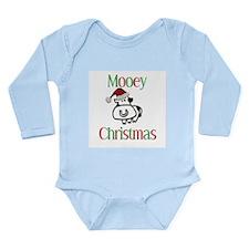 Mooey Christmas Long Sleeve Infant Bodysuit