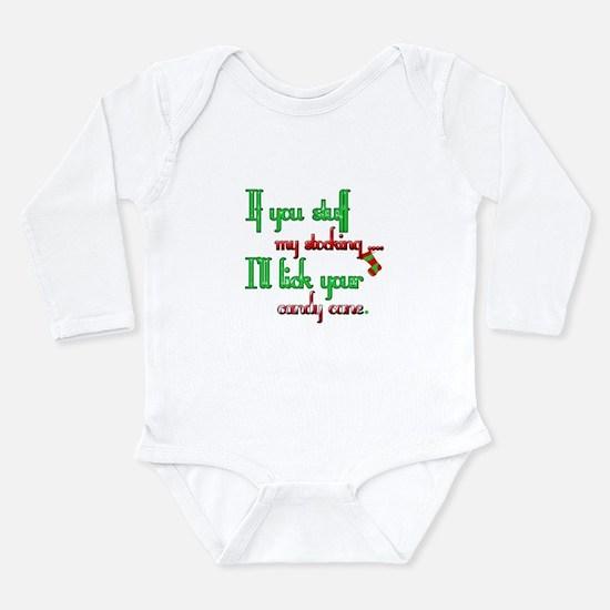 Cute Adult christmas Long Sleeve Infant Bodysuit