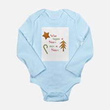 What happens at Nana's Long Sleeve Infant Bodysuit
