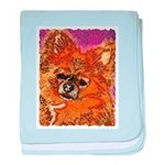 Long Haired Chihuahua Infant Blanket