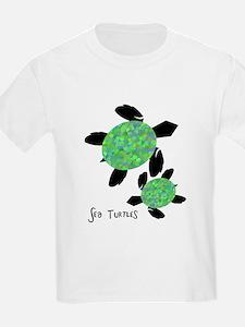 Sea Turtles Kids T-Shirt
