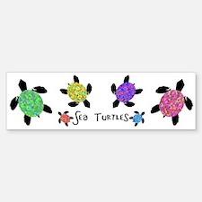 Sea Turtles Bumper Bumper Bumper Sticker