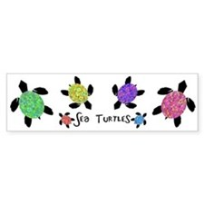 Sea Turtles Bumper Bumper Sticker