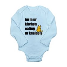 Cat and Knaidels Long Sleeve Infant Bodysuit