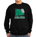 Let's Bounce Dice (Die) Sweatshirt (dark)