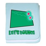 Let's Bounce Dice (Die) Infant Blanket