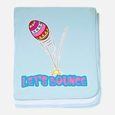 Let's Bounce Easter Egg Infant Blanket