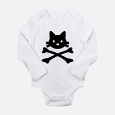 Kitty X-Bones by Rotem Gear Long Sleeve Infant Bod