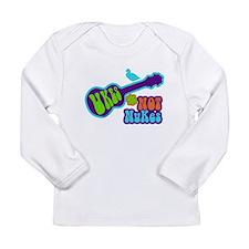 Ukes Not Nukes Long Sleeve Infant T-Shirt