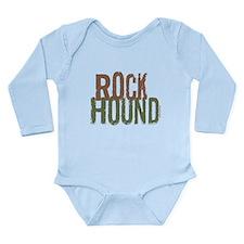Rockhound (Distressed) Long Sleeve Infant Bodysuit