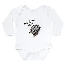 Trilobite Me Long Sleeve Infant Bodysuit